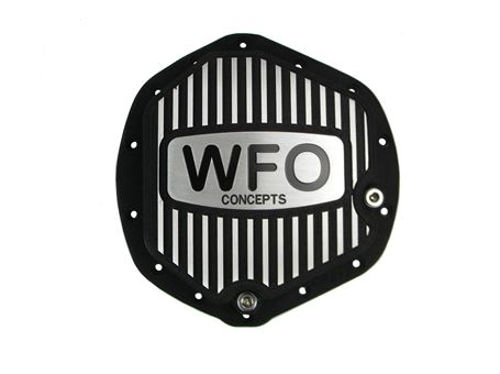 Diff Cover Black, AAM Dodge/Chevy 11.5