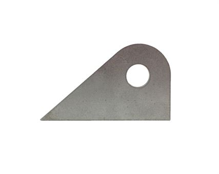 "Triangle Tab with 5/8"" Hole"