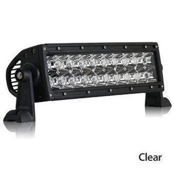 "Rigid E-Series 10"" Clear Combination Flood and Spot Light Bar"