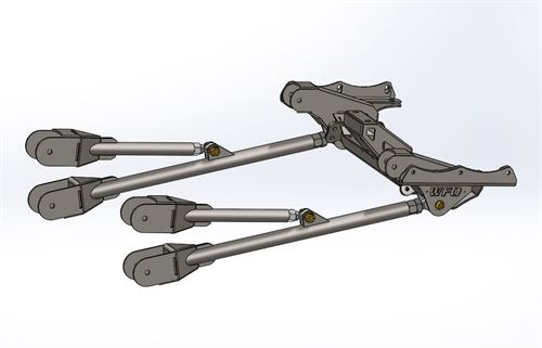 Universal Fsd Radius Arm Kit With Welded Clevis And Heim Joints Link Mounts And Kits Holder Wfoconcepts Com