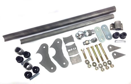 "3 Foot Torque Arm Kit, 3.375"" Dia Axle Tube"