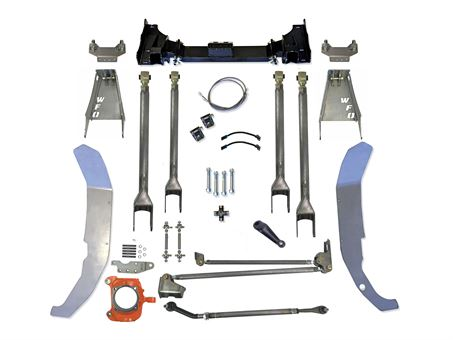 "WFO DMAX/HD 9"" SAS Kit using Ford Superduty Axle (4 Link)"