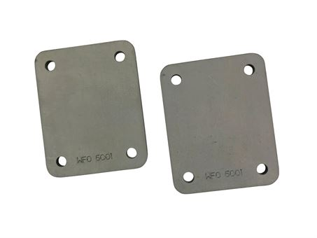 Front Pillar Mounting Foot Plates