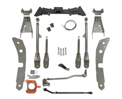 "WFO DMAX 9"" SAS kIt using Ford Superduty Axle (Radius Arm)"