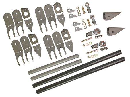 Universal FSD Radius Arm kit with UNWELDED Clevis and heim joints