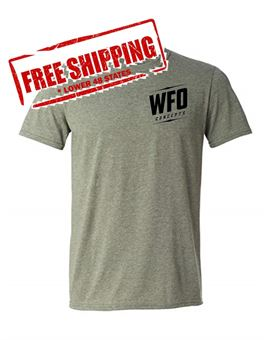 WFO Army Green T-shirt High Life Logo